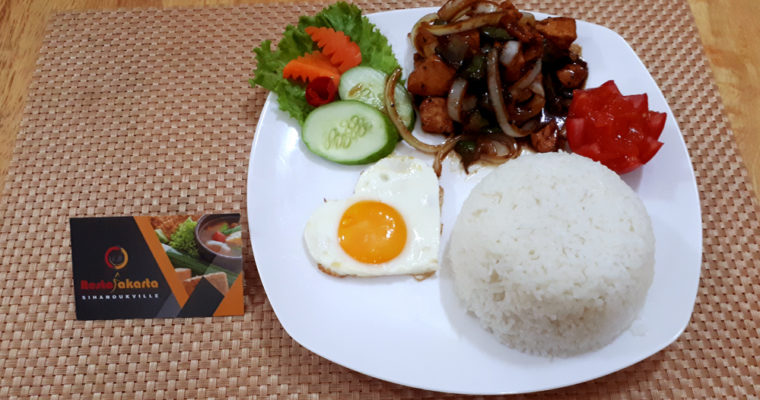 "Black Pepper Chicken ""Ayam Lada Hitam"""
