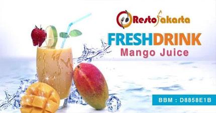"""Mango Juice """"Jus Mangga"""""""