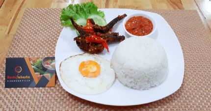 """Rice Eel Banten """"Nasi Belut Banten"""""""