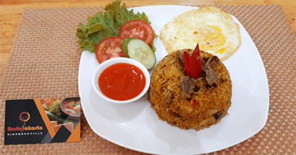 "Beef Fried Rice ""Nasi Goreng Sapi"""